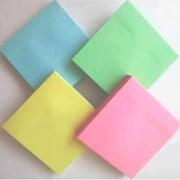 Папір для нотаток з клейким шаром (стікери) Economix Е20930, Е20931, Е20932, Е20933, пастельні, 100 арк.