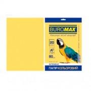 Папір кольоровий для друку Pastel BUROMAX, А4, 20 арк., один пастельний колір