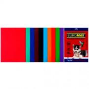 Папір кольоровий для друку DARK+INTENSIVE BUROMAX BM.2721920-99, А4, 80г/м2,10 кольорів, 20 арк.