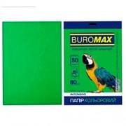 Папір кольоровий для друку INTENSIVE  BUROMAX, А4, 50 арк., один насичений колір
