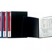 Дисплей-книга А4 Axent 1010-A (10 ф.), 1020-А (20 ф.), 1030-А (30 ф.), 1040-А (40 ф.), 1060-А (60 ф.), асорті класичних темних кольорів