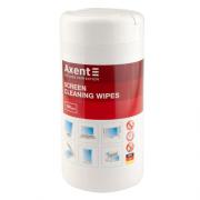Серветки для екранів вологі Axent 5302-A, 100 шт.