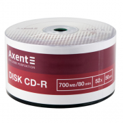 Диски CD-R Axent 8101-A, 8102-A, 8114-A, 8115-A , 700MB/80min 52X
