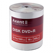 Диски  DVD + R  Axent  8107-A, 8108-A, 8120-A, 8121-A ,  4,7 GB / 120 min 16x