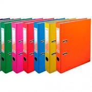 Папка-реєстратор А4 Delta D1713 (50мм), D1714 (75мм), асорті кольорів, одностороннє покриття