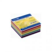 """Папір для нотаток Economix """"Зебра"""" E20942, E20943, 85x85 мм, 400 арк., білий з кольоровим"""