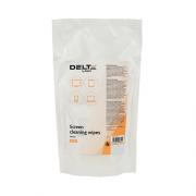 Серветки для екранів вологі Delta by Axent D5312, змінні, 100 шт.