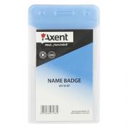Бейдж Axent 4514-А, вертикальний, матовий, 65*107