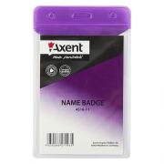 Бейдж Axent 4516-А, вертикальний, глянцевий, 80*125