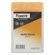 Бейдж Axent 4518-А, вертикальний, матовий, 80*125