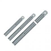 Лінійки металеві (сталь) Axent 7715-А, 7720-А, 7730-А, 7750-А, 7710-А