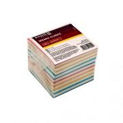 """Папір для нотаток Delta by Axent """"Mіх"""" D8011 - D8015, 80х80мм, 90х90мм, мікс білого і кольорового"""