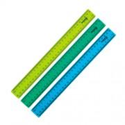 Лінійки пластикові, матові, кольорові Delta by Axent D9800, 30 см