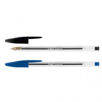 Ручка кулькова Bic Cristal: каталог, види, ціна на кулькову ручку