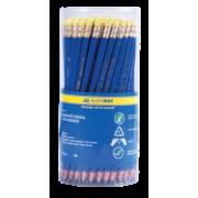 Олівець графітовий з ластиком Buromax BM.8514