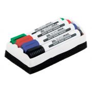 Маркери для дошок та губка Buromax BM.8800-84