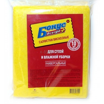 Серветки віскозні Бонус, 5 шт. від А-Плюс: каталог, види, ціни