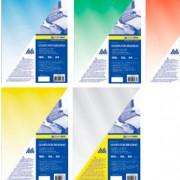 Обкладинки для палітурки А4 пластикові прозорі Buromax BM.0540, BM.0541 (150мкм), BM.0560, BM.0561 (180мкм)