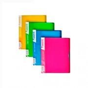 Дисплей-книга А5 Axent 1220-А (20 файлів), асорті яскравих кольорів