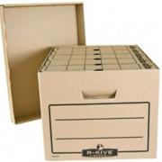 """Короб архівний серії """"R-Kive Basics"""" Fellowes f.20303, крафт"""