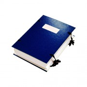 Папка архівна на зав'язках А4 DONAU 2092001PL-99, асорті