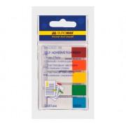 Індекс-мітки пластикові Buromax BM.2305-98, 45х12мм, 100 шт. (5 кольорів х 20 шт.)