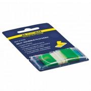 Закладки з клейкою стрічкою пластикові POP-UP Neon Buromax BM.2309, 45x25 мм, 50 арк., один колір