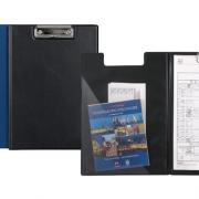 Папка-планшет А4 з металевим кліпом Axent 2513-А, чорний, синій
