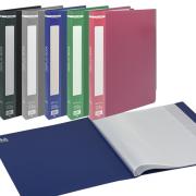 Папка з файлами A4 Buromax BM.3601, ВМ.3606, BM.3612, ВМ.3617, BM.3622, асорті 5 кольорів