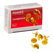 Кнопки оміднені Axent 4202-A(50шт.), 4212-А (100шт.)