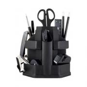 Набір настільний 16 предметів (360⁰) Jobmax Buromax BM.6302-01, чорний