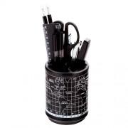 Набір настільний 7 предметів Buromax BM.6314-01, чорний з принтом