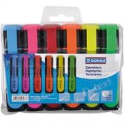 """Набір маркерів текстових флуоресцентних DONAU """"D-Text"""" 7358904PL-99, 7358906PL-99"""