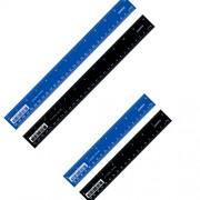 Лінійки пластикові Axent 7620-А (20 см), 7630-А (30 см)