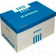 Короби для архівних боксів Donau 7666301PL, з накидною кришкою