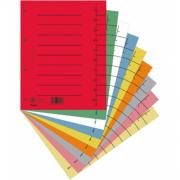 Розділювач аркушів картонний 235х300 мм DONAU 8610001S-99, А4, 100 шт. /уп.