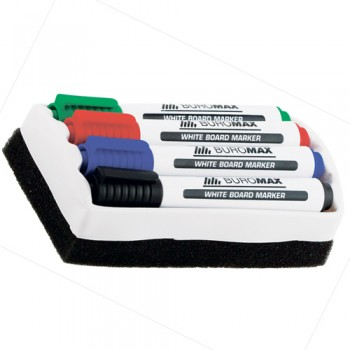 Набір маркерів для дощок з губкою Jobmax Buromax BM.8800-84: каталог, види, ціни