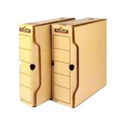 """Бокс архівний серії """"R-Kive Basics"""" Fellowes f.91402, f.91601, крафт"""