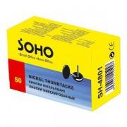 Кнопки нікельовані Soho SH-4801