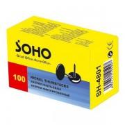 Кнопки нікельовані Soho SH-4802